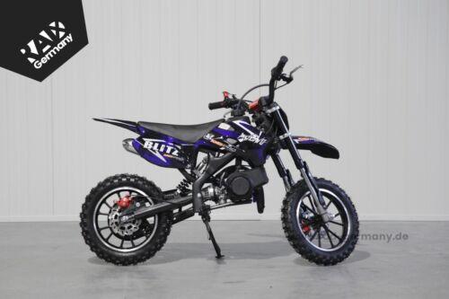 "2-Takt Automatik Enduro KXD 708A Blitz 49ccm Pocketbike 10/"" Dirtbike"