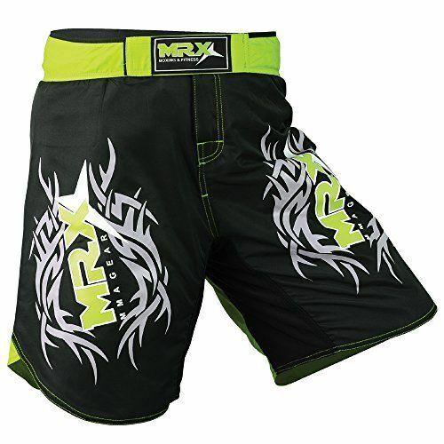 Mens MMA Fight Shorts Grappling Short Muay Thai Kick Boxing Cage Fighting Shorts