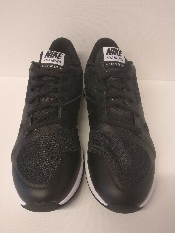 Nike Air Epic Speed Dark TR7.5 Noir blanc  Dark Speed Gris 819003001 f0b297