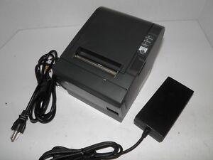 Epson-M129C-TM-T88III-Thermal-POS-Receipt-Printer-Serial-Printer-w-Power