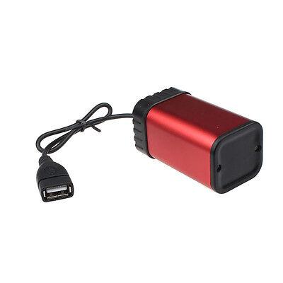Waterproof AA Battery USB Power Storage Case Box For Bike LED HeadLight Hoc