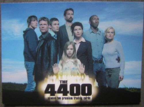 2007 Inkworks The 4400 Season Two Premium Trading Cards Promotional Package