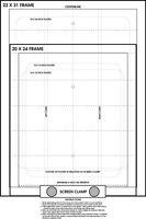 Screen Printing Pre Registration Template Poster Register Film Positves Easily
