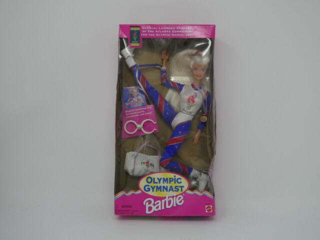 1995 MATTEL OLYMPIC GYMNAST BARBIE DOLL #15123 IN BOX