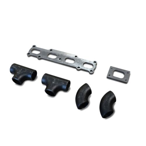 MX5//Miata 1800 1.8 T2 T25 T28 Log Turbo Manifold Fabrication Kit DIY