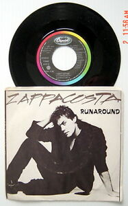 ONE-1984-039-S-45-R-P-M-RECORD-ZAPPACOSTA-RUNAROUND-CAN-039-T-LET-GO
