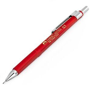0.5mm Single Faber-Castell Grip Matic Mechanical Pencil Red Barrel