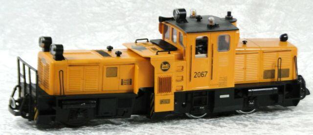 LGB 2067 Schienenreinigungslok digital und analog
