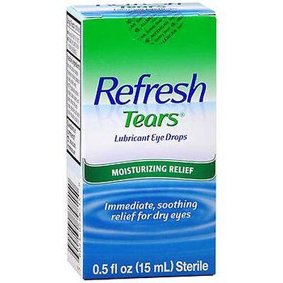 Refresh Tears Lubricant Eye Drops 0.50 fl oz (15 ml) Each
