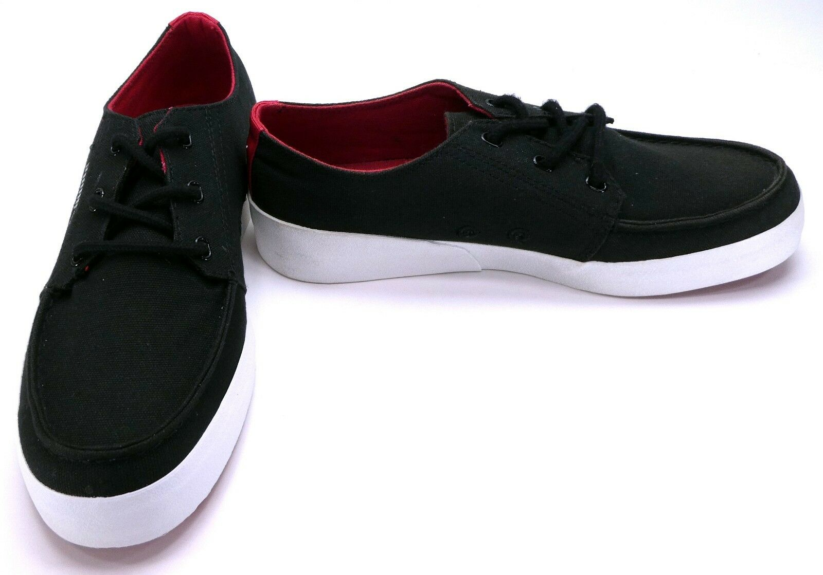 Puma shoes Canvas Lo Hawthorne Xelo Black Red Sneakers Size 9