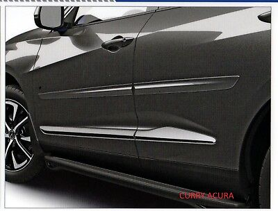 Genuine Oem Acura 2019 2020 Rdx Body Side Moldings All