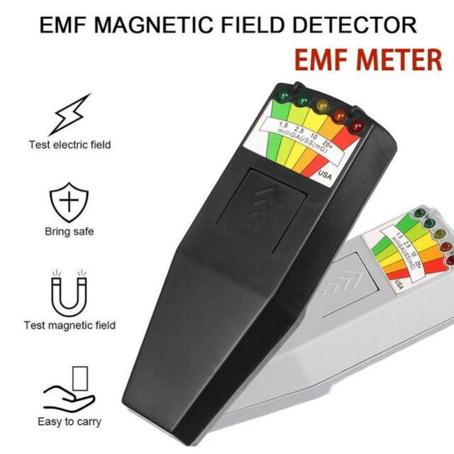 5 LED KII EMF Meter Magnetic Field Detector Ghost Hunting Paranormal  Equipment