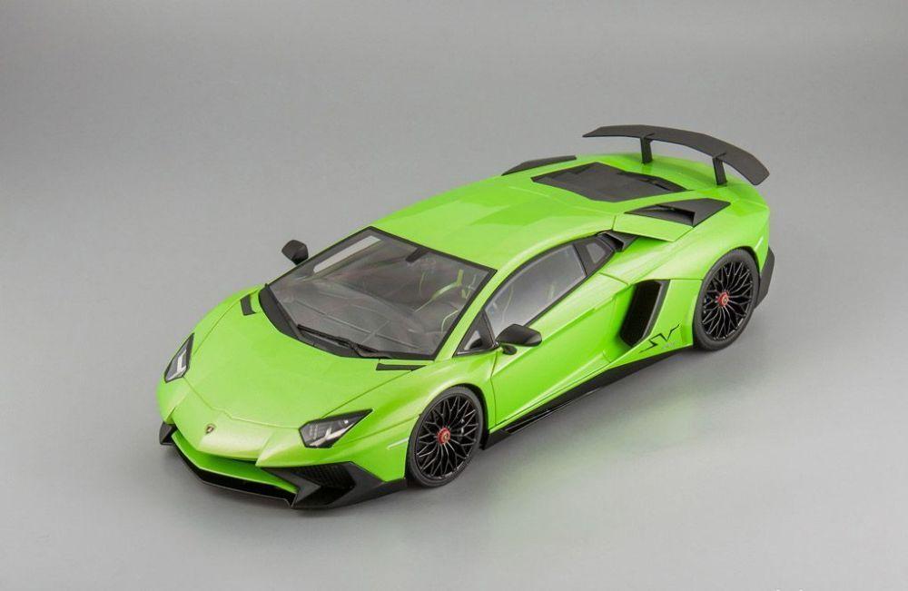Lamborghini aventador lp750-4 superveloce grüne 1,18 kyosho c09521g