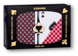 COPAG-Master-Plastic-Playing-Cards-POKER-Size-Regular-Index-Black-Red-Double