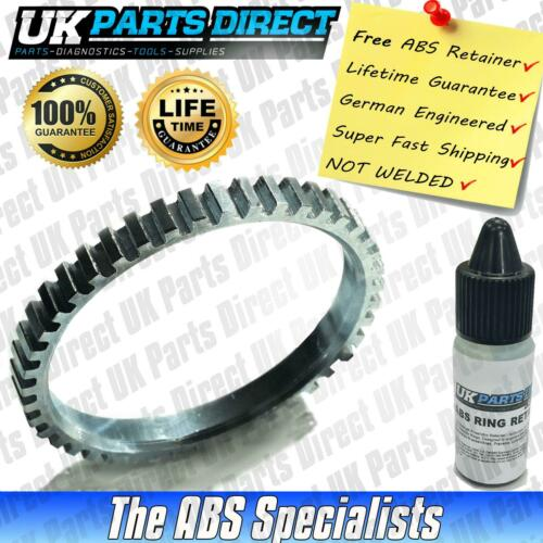 Ford Cougar ABS Reluctor Ring Front 1998-2002 Toothed Style *FREE RETAINER*