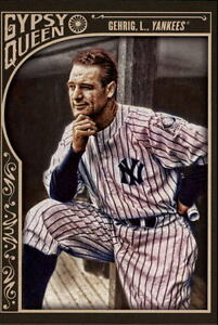 2015-Topps-Gypsy-Queen-Baseball-39-Lou-Gehrig-New-York-Yankees