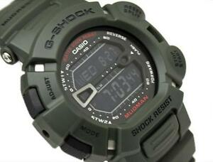 CASIO-G-SHOCK-MUDMAN-G9000-3-G-9000-3V-MUD-DIRT-RESISTANT-ARMY-MILITARY-GREEN