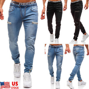 Mens-Slim-Fit-Stretch-Jeans-Comfy-Fashionable-Skinny-Denim-Pants-Denim-Trousers