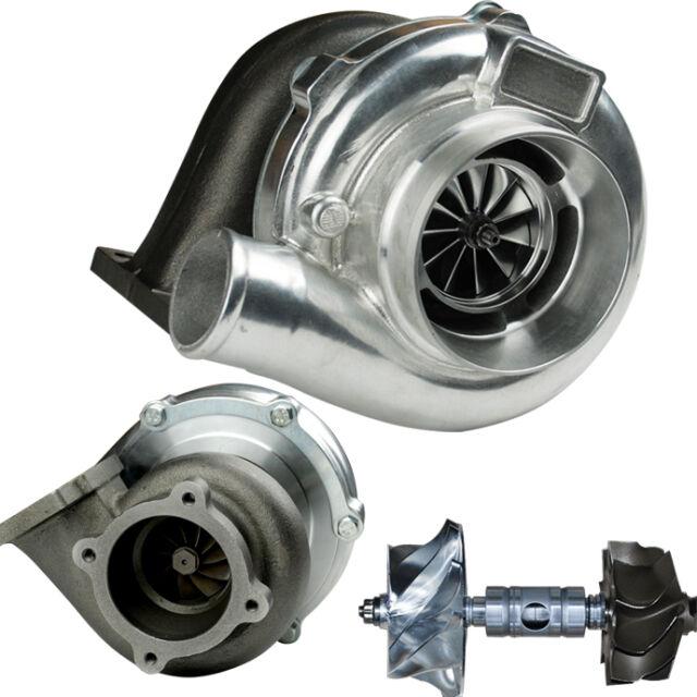 GTX3076R Dual Ball bearing Turbo Charger CNC Billet Compressor Wheel T3 Flange