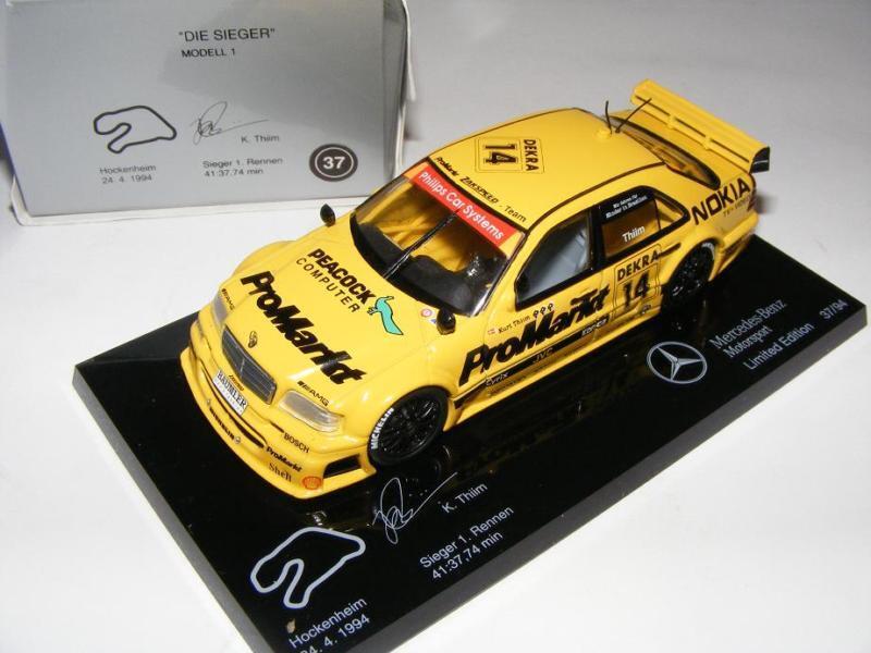 1 43 Minichamps AMG Mercedes C DTM 94  Die Sieger   1