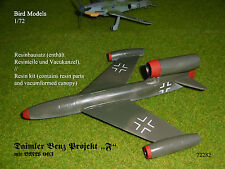 "Daimler Benz Projekt ""F"" mit BMW 003   1/72 Bird Models Resinbausatz / resin kit"