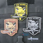 Metal Gear Solid Badge Outdoor Camping The Punisher Mini 3D PVC Velcro Pieces