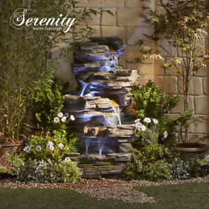 Serenity Large Waterfall Rock Pool 1m Water Feature