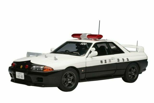 Nissan Skyline GT-R R35 Kanagawa Japan Police 1//64 Diecast