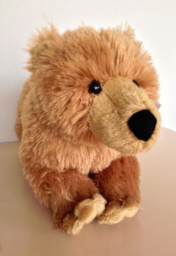 "13/"" Plush Woodland Forest Animal Brown BEAR Stuffed Animal Toy"