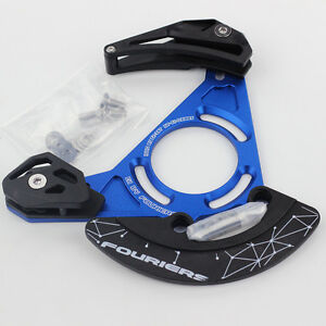 Downhill XC Single Speed Chain Guide Retention Device 32T - 38T ISCG05 BB Blue