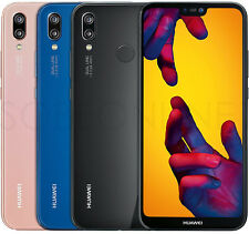 "NEW Huawei P20 Lite 32GB/4GB DualSim (FACTORY UNLOCKED) 5.8"" Black, Blue, Pink"