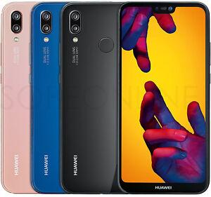 NEW-Huawei-P20-Lite-32GB-4GB-DualSim-FACTORY-UNLOCKED-5-8-034-Black-Blue-Pink