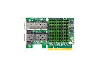 Supermicro AOC-STGN-I2S REV 2.00 Dual Port 10GbE SFP+Low Profile PCIe 2.0 x8