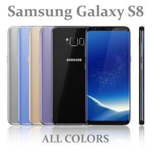Samsung-Galaxy-S8-G950F-64-Go-toutes-les-couleurs-Debloque-Sans-SIM-Smartphone
