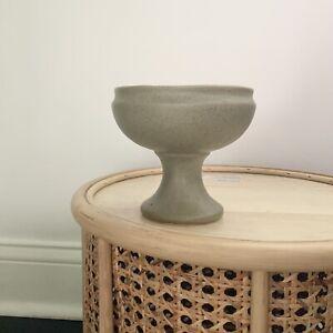Speckled Green McCOY USA Floraline Vintage Pottery Vase # 461