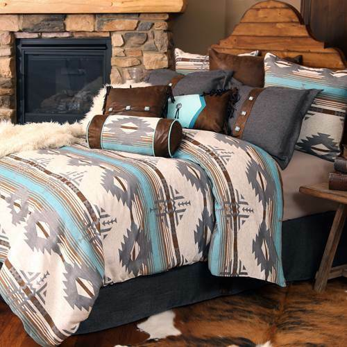 Badlands 5 Piece Comforter Set with Drapes Option - FREE SHIPPING