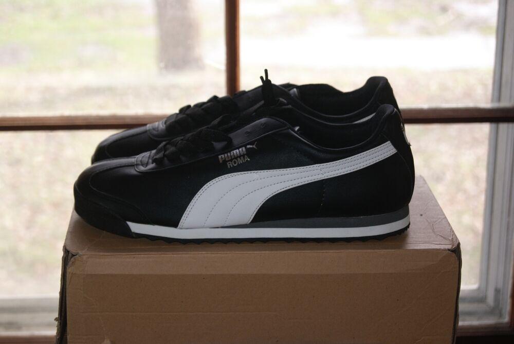 L Roma Noir Sz 10 Basic Blanc Aq1ubw 5 Mens Puma Chaussures pBRRTfZq