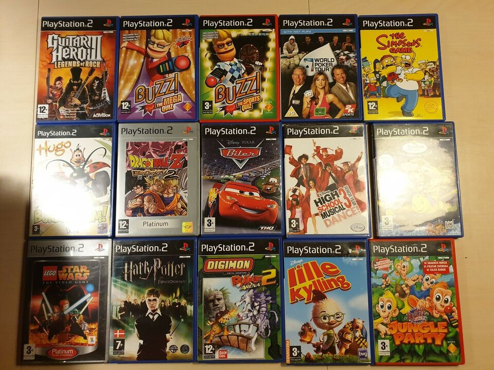 Blandet, PS2, anden genre