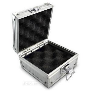 Tattoo machine foam paded box case aluminium alloy storage for Tattoo machine case