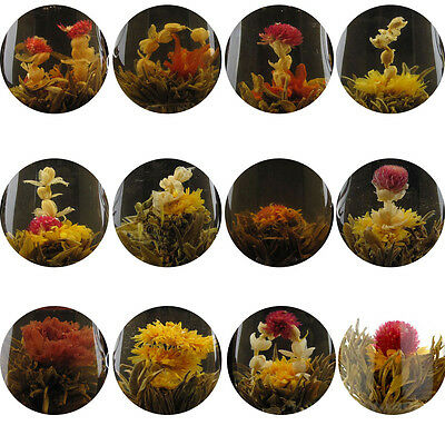 4 Random Different Blooming Tea 4 Flowering Tea Ball  FREE Shipping