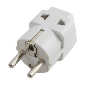 Uk Us Au Eu To Ger Germany Plug Useful Converter Power