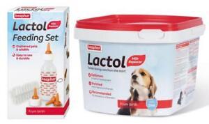 Beaphar-Feeding-Set-or-Lactol-Puppy-Milk-Whelping-Set-You-Choose
