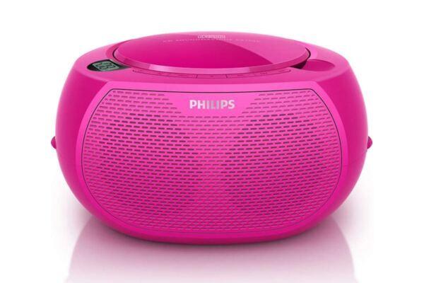Ongebruikt Philips Az100c Portable CD Player - Pink for sale online   eBay TG-15