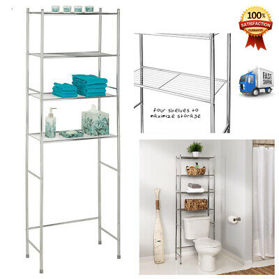 Over the toilet storage for small spaces closet