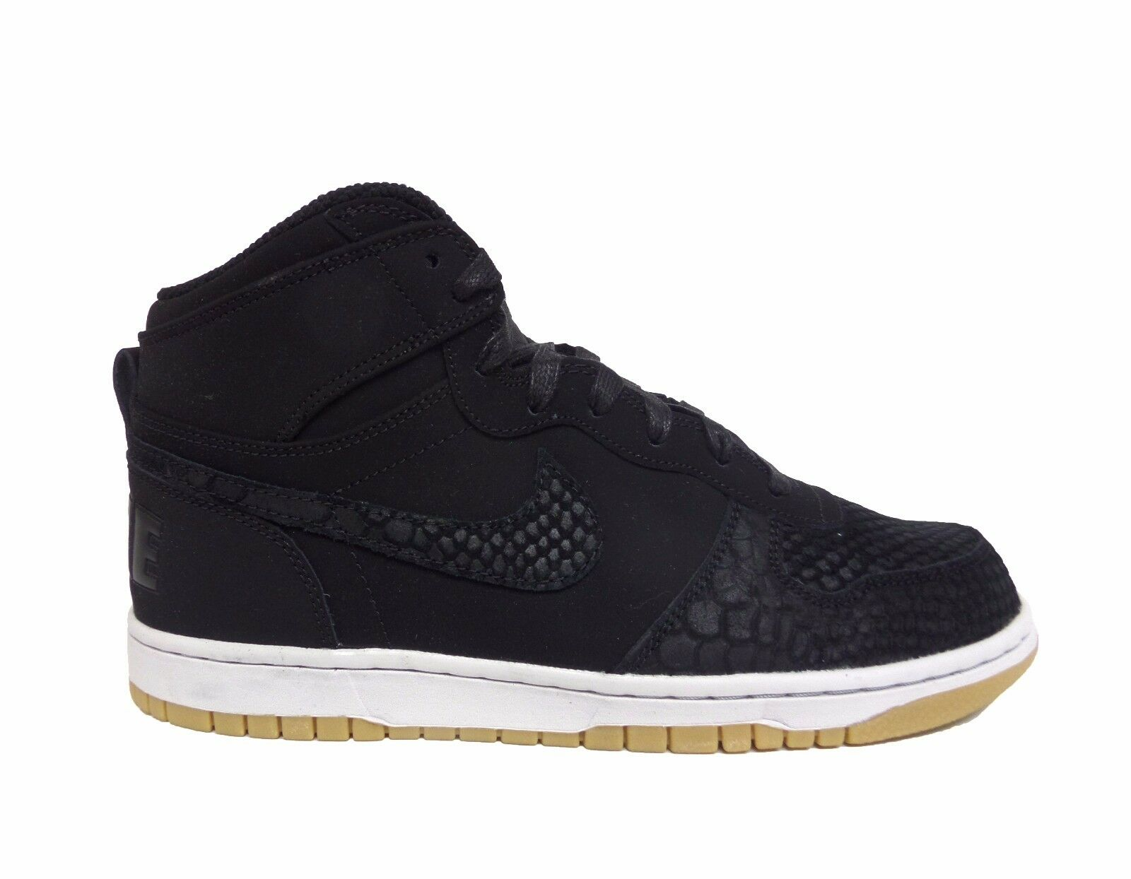 Nike Men's BIG NIKE HIGH LUX Shoes Black/Black/Platinum/Gum 854165-001 a