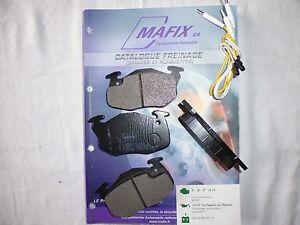 Citroen-Ax-Saxo-Zx-C15-jeu-4-plaquettes-de-frein-av-g-amp-d-LDPA44