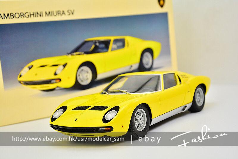 envío gratuito a nivel mundial Autoart 1 18 Lamborghini Murat SV SV SV Amarillo  artículos de promoción