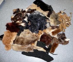 Kleidung & Accessoires WohltäTig Bastelware Pelz Breitschwanz Maihamster Nerz Fuchs Rotfuchs Waschbär Pelzstücke RegelmäßIges TeegeträNk Verbessert Ihre Gesundheit