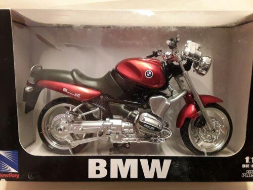 BMW R 1100 R - PREZZO SPECIALE 1:12 NEW RAY rosso