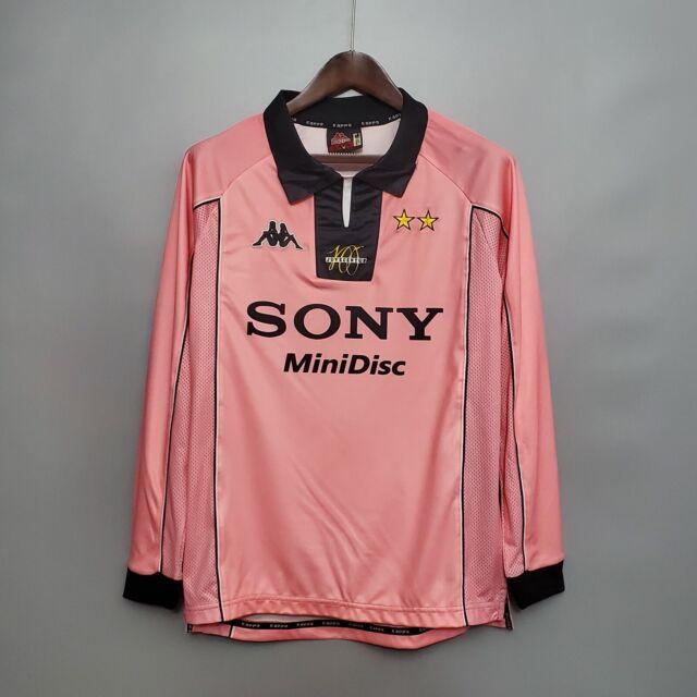1997-98 Juventus Away long sleeve Retro Soccer Jersey